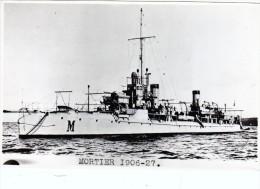 batiment militaire marine francaise contre  torpilleur Mortier 1906-27 coque M