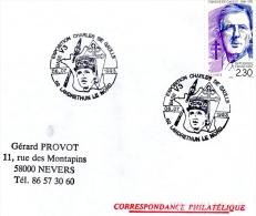 LANDRETHUN LE NORD, 62 : TàD 1993 Base V3 Exposition CHARLES DE GAULLE - De Gaulle (General)
