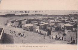 CPA Touggourth - La Ville Indigène Et Le Grand Désert (11622) - Ouargla