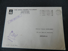 Enveloppe De 1966 - Caisse Générale D'Épargne Et De Retraite - Agence De Forest - Bruxelles - Collections