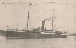 """Bordeaux -Cie  Générale Transatlantique - Paquebot  """" Martinique""""   - Scan Recto-verso - Bordeaux"""