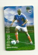 Magnet Carrefour Footballeur Abou Diaby - Sports