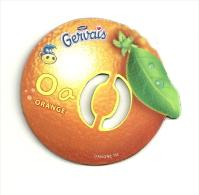 Magnet Gervais  O Comme Orange - Lettres & Chiffres