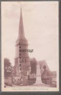 27 - SAINT AUBIN Sur GAILLON--L´Eglise Et Le Monument--cpsm Pf--**Pas Courante - Francia
