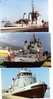 batiment militaire marine francaise lot 6 photos A 696 a bastia tres belle