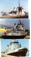 Batiment Militaire Marine Francaise Lot 6 Photos A 696 A Bastia Tres Belle - Boats