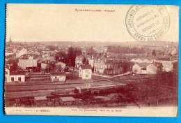 OV726, Rambervillers,  Quartier De La Gare, Circulée Sous Enveloppe 1914 - Rambervillers