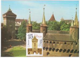 Poland 1988 St. Florian´s Gate Canceled In Krakow - Cartes Maximum