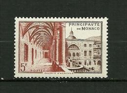 MONACO   1952    N° 383    Musée Postal Galerie Hercule       NEUF - Unused Stamps