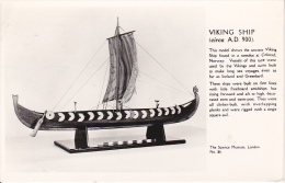 PC Viking Ship A.D. 900 - Science Museum - London (11630) - Segelboote