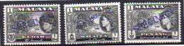 Malaysia Kedah, Penang MNH SPECIMEN Stamps  (sp9) - Grande-Bretagne (ex-colonies & Protectorats)