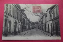 Cp Rosny Sous Bois Rue De Paris - Rosny Sous Bois