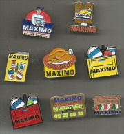 8 Pin's  Maximo - Alimentation
