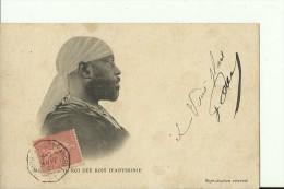 ETH4   --   ROI  DES ROIS   D `ABYSSINIE MENELIK  II.   --  ROYALTY  ---   1906 - Äthiopien