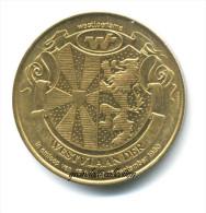 WESTVLAANDER 25 GANDAE 1980 GETTONE MONETALE DELLE FIANDRE - Monetari / Di Necessità