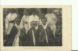 ETH8   --   FILLES DU RAS SEBEATH AVEC LEURS ESCLAVES - Äthiopien