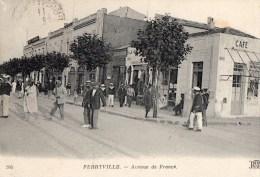 45Hy    Tunisie Ferryville Avenue De France Café De Londres - Tunisia