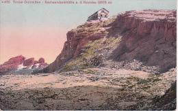 AK Tiroler Dolomiten - Sachsendankhütte A.d. Nuvolau - Stempel Meerheimb's Sachendankhütte (11639) - Otras Ciudades