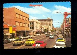 ALBUQUERQUE New Mexico Central Avenue Main Street 1974 Auto Automobile Oldtimer Vintage Car Voiture Américaine Coca Cola - Albuquerque