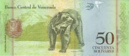 VENEZUELA P. 92c 50 B 2011 UNC - Venezuela