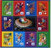 FRANCE COUPE DU MONDE 1998 YVERT BF 19 NEUF LUXE **MNH - Coupe Du Monde