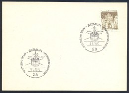 Germany Deutschland 1971 Card: Space Weltraum Espace: Hog Arge Satelliten Olbers Gesellschaft - FDC & Gedenkmarken