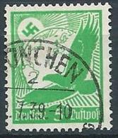 1934 GERMANIA TERZO REICH USATO POSTA AEREA AQUILA 5 P - G4-4 - Airmail