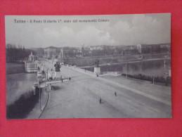 TORINO - Il Ponte Umberto 1er, Visto Dal Monumento Crimea (animée) - Italia