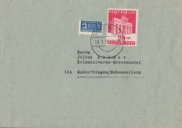 Bizone Brief EF Minr.102 Trautskirchen 14.1.49 - Bizone