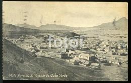 OLD POSTCARD SAO VICENTE CABO CAPE VERDE AFRICA  POSTAL CARTE POSTALE - Cape Verde