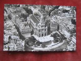 Paris - Vue Aérienne - La Place Et L`Eglise De La Trinité - Les Rues Blanche Et De Clichy - Multi-vues, Vues Panoramiques