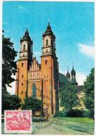 Poland 1977 Poznan, Church - Cartes Maximum
