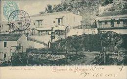 Turkey Smyrne French Levant Stamp postcard XC0859