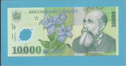 ROMANIA - 10.000 LEI - 2000 - P 112 - UNC. - GEORGE ENESCU - POLYMER PLASTIC - ROMÉNIA ROMANIEI - Rumania