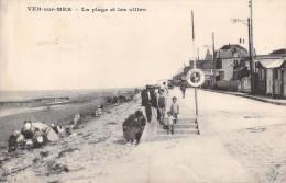 VER SUR MER - LA PLAGE ET LES VILLAS - France