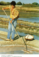 ASSERAC 44, La Cueillette De La Fleur De Sel, 06/1992 - 400ex - Cultures
