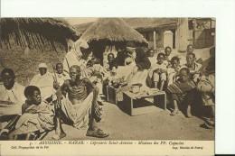 ETH42   --   ABYSSINIE  --  HARAR  --   LEPROSERIE  SAINT - ANTOINE   ---  MISIONS DES CAPUCINS - Äthiopien