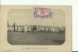 ETH45   --   HARAR   --  UNE FANTASIA  UN JOUR DE FETE - Äthiopien