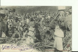 ETH51   --   HARAR   --  LE MARCHE INDIGENE  --  1906 - Ethiopie