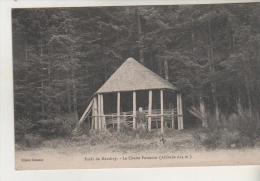 88 - Forêt De MANDRAY - Chalet Forestier - Carte Rare - France