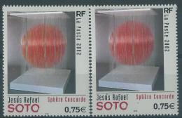 [04] Variété : N° 3535 Sotto Sans Le Jaune (sphère Rose) + Normal  ** - Varieteiten: 2000-09 Postfris