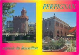 CPM - 66 - PERPIGNAN - Capitale Du Roussillon - Perpignan