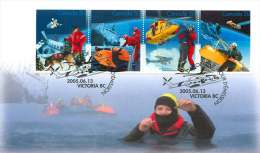 2005  Search And Rescue  Sc 2111a-d  From Souvenir Sheet - Ersttagsbelege (FDC)