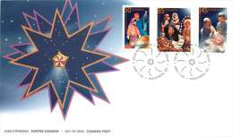2005   Christmas Issue: Crèches  Sc 2125-7  On Single FDC - 2001-2010