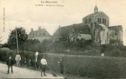 CPA 53 LA ROE RUINES DE L ABBAYE - France