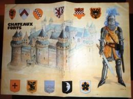 POSTER CHATEAUX FORTS - Vieux Papiers