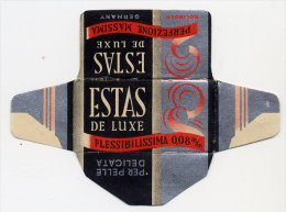 """ESTAS"" (VARIANTE SCRITTA FLESSIBILISSIMA) Lamette Hojas-hoja Afeitar Razor Blades-blade Rasierklingen Lames-lame Rasoir - Lames De Rasoir"