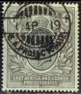 EAST AFRICA AND UGANDA PROTECTORATE - King GEORG V - 1 R Fine Used - 1912 - Kenya, Uganda & Tanganyika