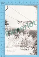 Stowe VT ( Mt. Mansfield Lift Smugglers Notch ,  Photo Postcard ) Recto/Verso - Etats-Unis