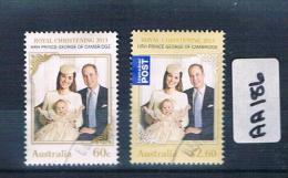 Australia 2014  Prince George 2val Sheet  F/used  AA186 - 2010-... Elizabeth II